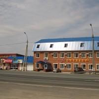 Отель Фортуна - вид с трассы